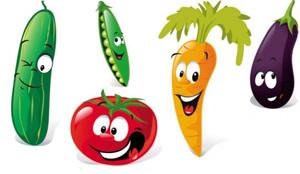 згадки про овощи